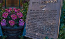 Julian Gold Rush Hotel - Historic Plaque